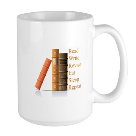 How to be a writer Large Mug