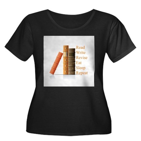 How to be a writer Women's Plus Size Scoop Neck Da