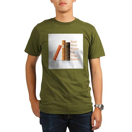 How to be a writer Organic Men's T-Shirt (dark)