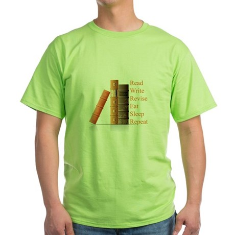 How to be a writer Green T-Shirt