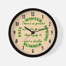 Deadline Wall Clock