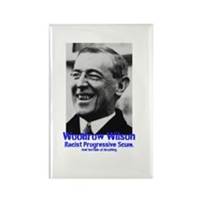 Woodrow Wilson Didnt Brush Rectangle Magnet