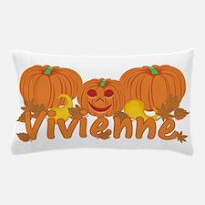 Halloween Pumpkin Vivienne Pillow Case