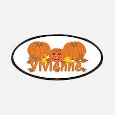 Halloween Pumpkin Vivienne Patches