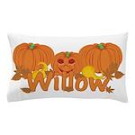 Halloween Pumpkin Willow Pillow Case