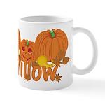 Halloween Pumpkin Willow Mug