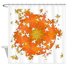 Rapture Leaf Breakout Shower Curtain