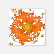 "Rapture Leaf Breakout Square Sticker 3"" x 3"""