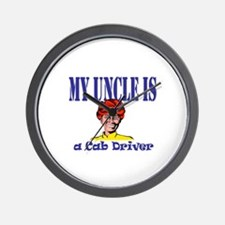 My Uncle is a Cab Driver Wall Clock