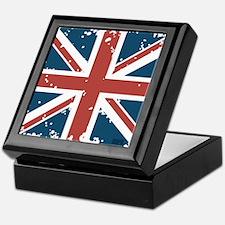 Union Jack Flag Keepsake Box