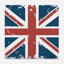 Union Jack Flag Tile Coaster