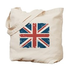 Union Jack Flag Tote Bag