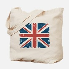 Union Jack Flag Tote Bag