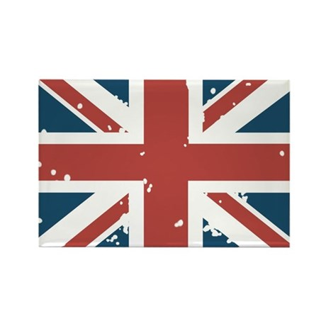 Union Jack Flag Rectangle Magnet
