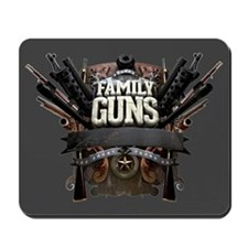 Family Guns Mousepad