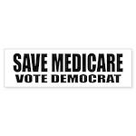 SAVE MEDICARE Sticker (Bumper 10 pk)