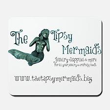 Tipsy Mermaid Car Magnet Mousepad