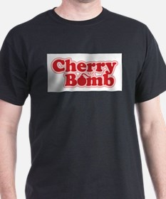 Cherry Bomb Ash Grey T-Shirt T-Shirt