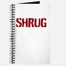 Red shrug Journal
