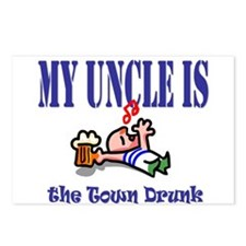 My Uncle is the Town Drunk Postcards (Package of 8