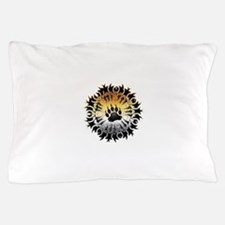Tribal Bear Pride Paw Pillow Case