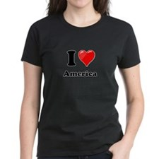 I Heart Love America Tee