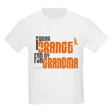 I Wear Orange For My Grandma 6 T-Shirt