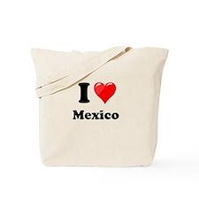 I Heart Love Mexico Tote Bag