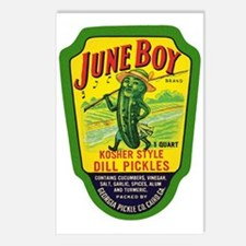June Boy Pickles Postcards (Package of 8)