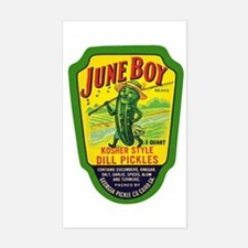 June Boy Pickles Decal