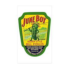 June Boy Pickles Decal