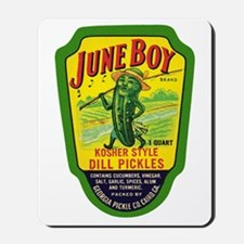 June Boy Pickles Mousepad
