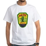 Retro Mens White T-shirts