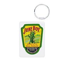 June Boy Pickles Keychains