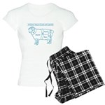 Blue print / Know Your Cuts of Lamb Women's Light
