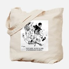 1st 30 Years of Refereeing Tote Bag