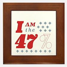 I'm the 47% Framed Tile