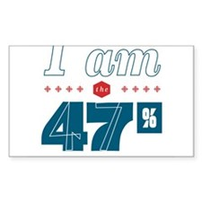 I Am the 47% Decal
