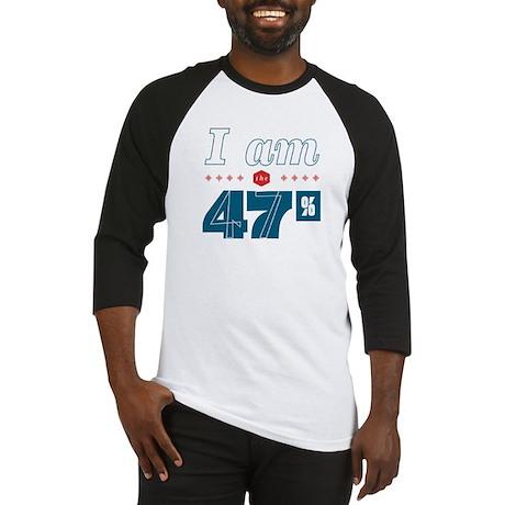 I Am the 47% Baseball Jersey