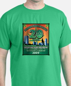 2009 Boston Freedom Rally T-Shirt