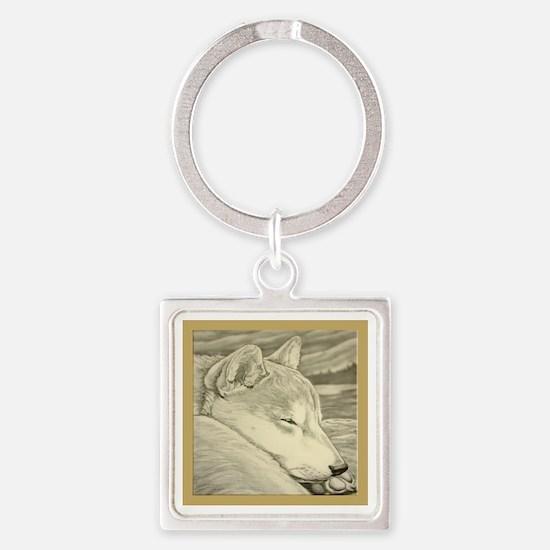 Shiba Inu Dog Art Keychains
