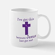 Purple Jesus Has Got Me Mug