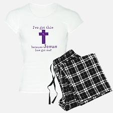 Purple Jesus Has Got Me Pajamas