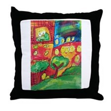 janethtshirt.jpg Throw Pillow