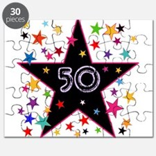 50th! Festive, Birthday, Anniversary! Puzzle