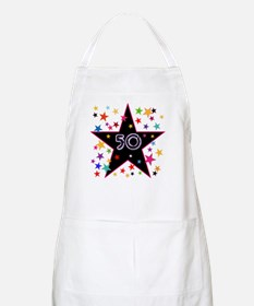 50th! Festive, Birthday, Anniversary! Apron