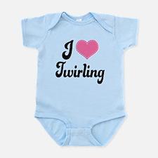 I Love Twirling Infant Bodysuit