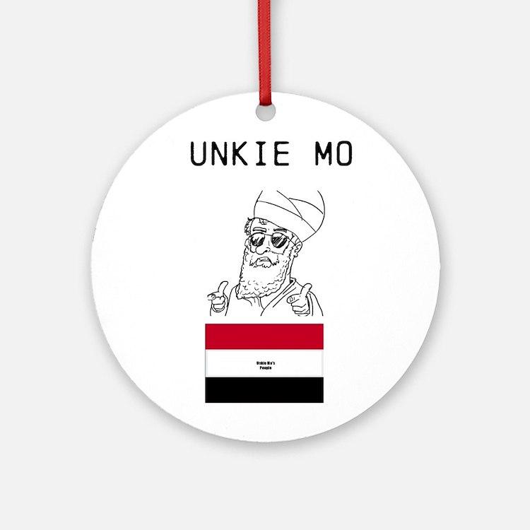 Muhammad Ornament (Round)