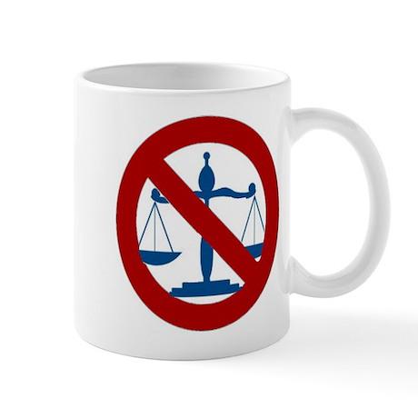 No Justice Mug