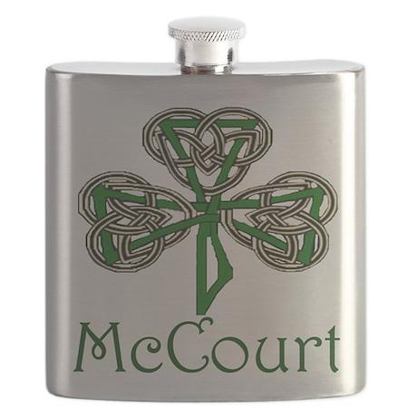 McCourt Shamrock Flask